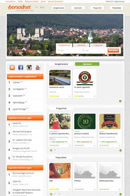 Borsodnet regional portal