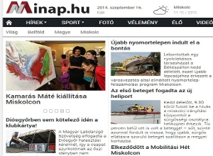 Minap regionális hírportál