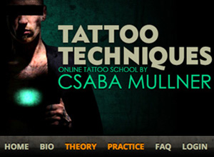 Tattoo Techniques online tattoo school